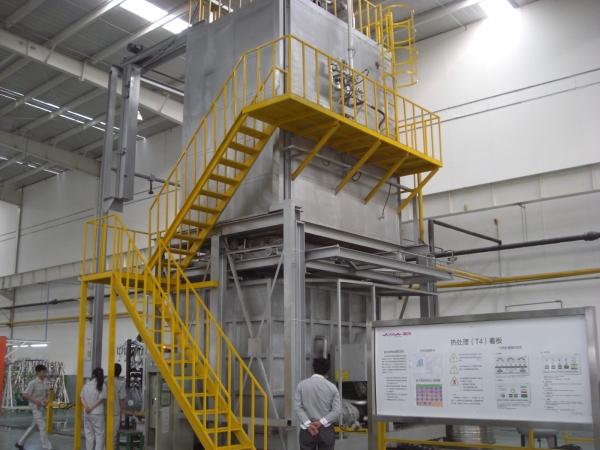 铝合金T4固熔热处理炉