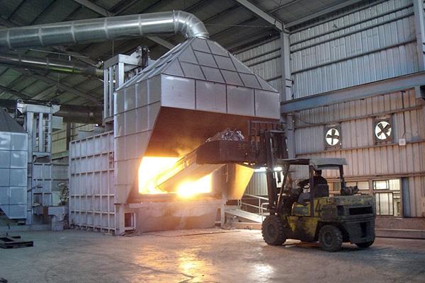 铝及铝合金熔炼保温炉