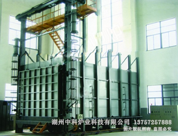 全纤维台车式热处理电阻炉
