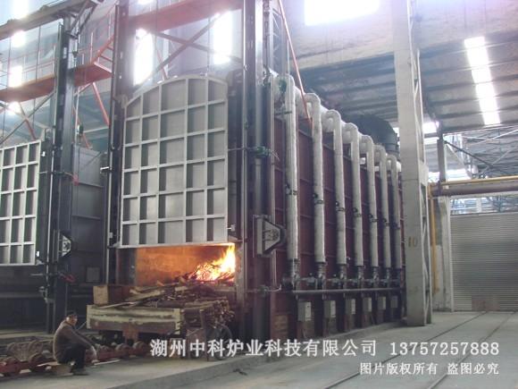 模壳燃气台车炉
