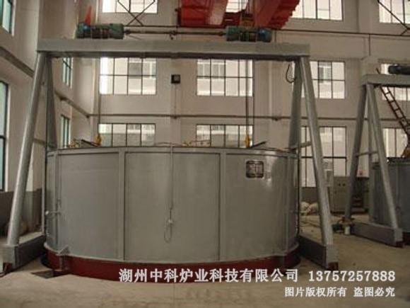 大型钟罩式电阻炉