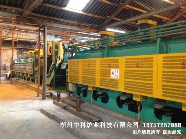 山东RCW型网带式无马弗电阻炉生产线